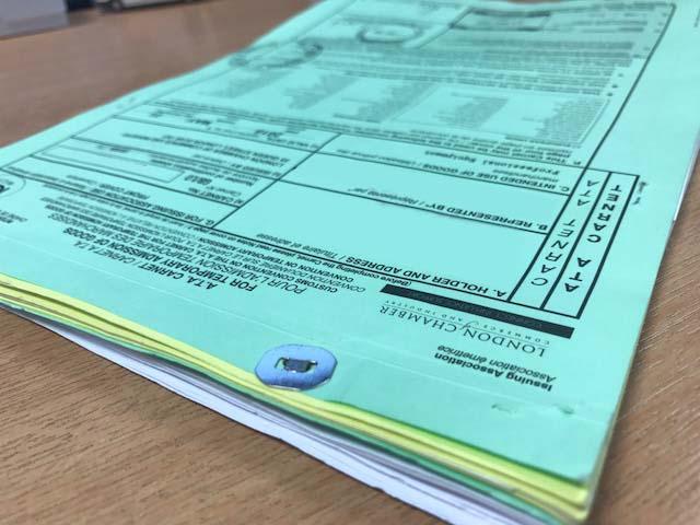 ATA carnet - Customs clearance agents