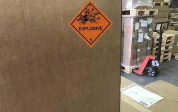 Dangerous goods handling services