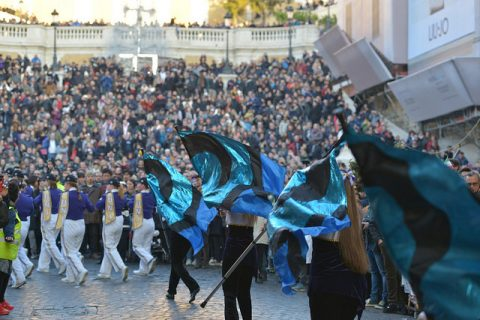 New Years Day Parade Rome 2017