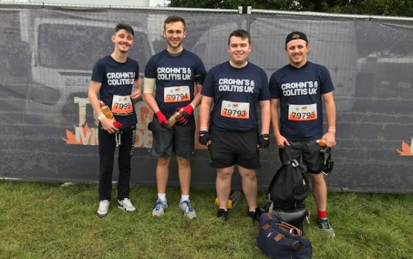 Before the tough mudder